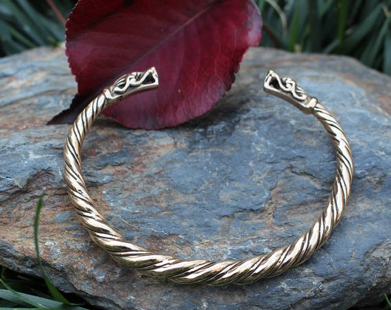 Gotland Dragon Viking Bracelet