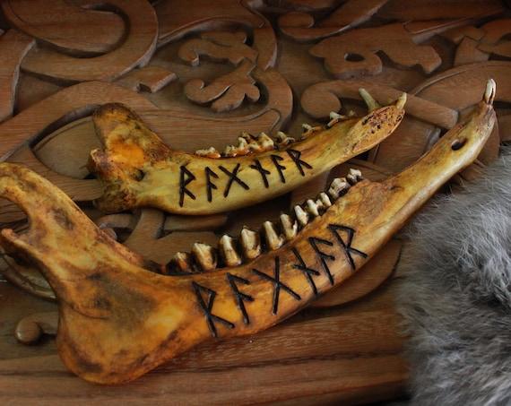 Ragnar Viking Jawbone Rune