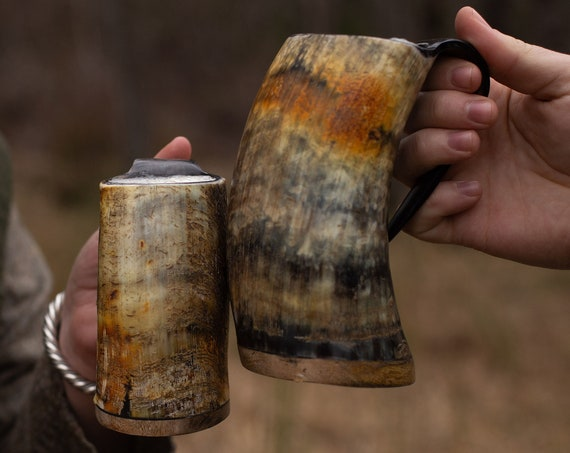 Viking Drinking Horn Tankard Small Or Large