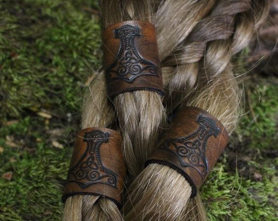 Mjolnir Hair/Beard Bead