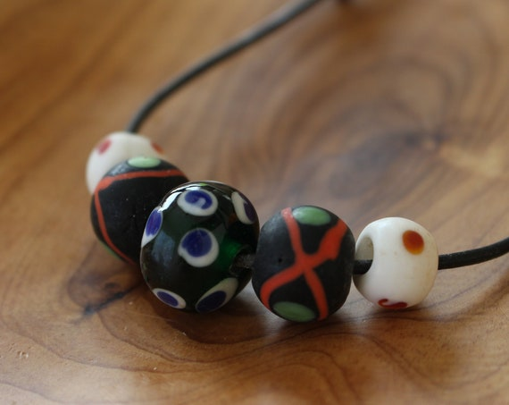 Replica Bead SET From The Iron and Viking Age.
