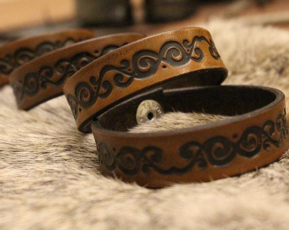 Yggdrasil, Historical Viking Art Bracelet
