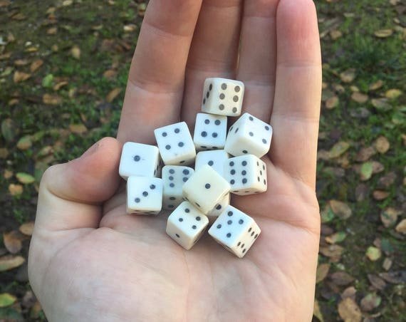 Viking/Medieval Betting Bone Dice
