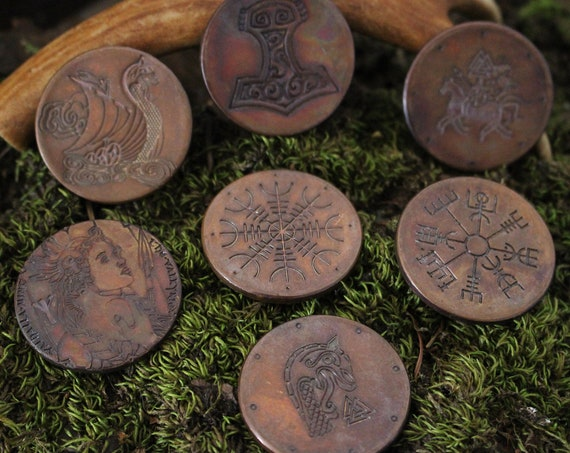 Collectible Norse Challenge Coins