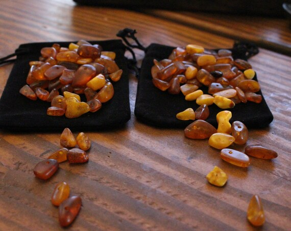 Loose Baltic Amber Beads For Crafting and Apron-strings