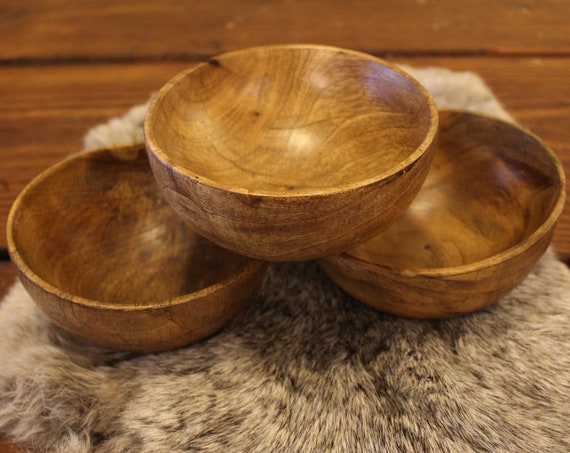 Historical Reenactment Wood Bowl