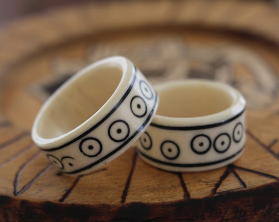 Viking Bone Ring Replicas
