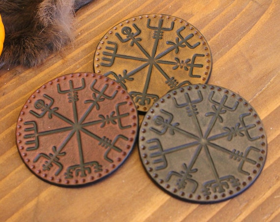 Vegvísir Hood/Tunic patch