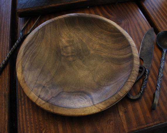Viking Wooden Plate