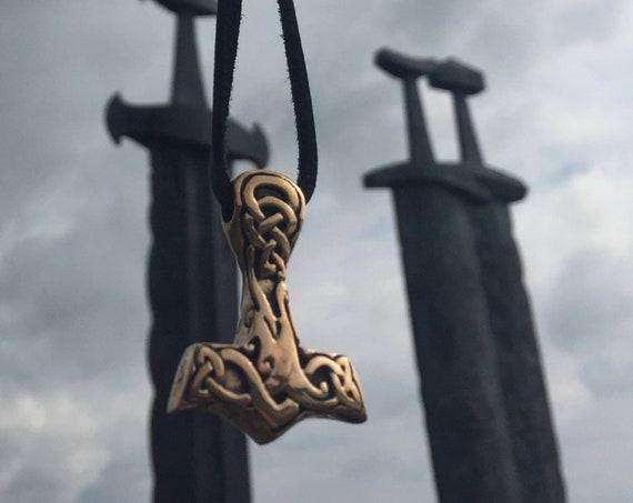 Hand Casted Mjolnir