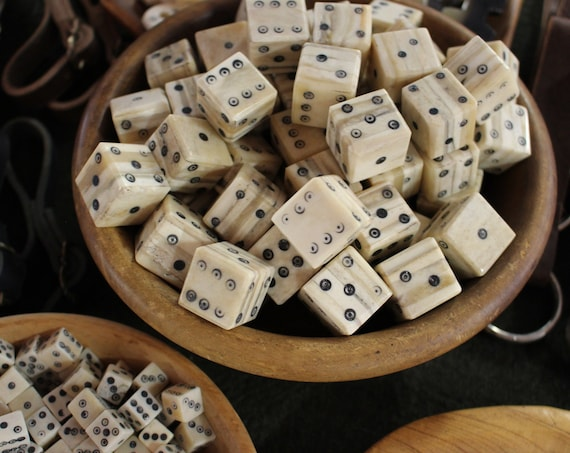 Extra Large Replica Viking Bone Dice