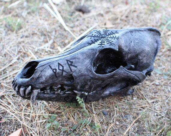 Runic skull of the Gods