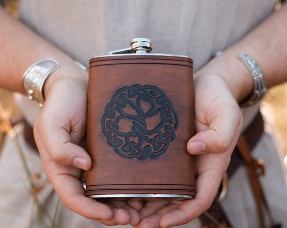 Yggdrasil World Tree Drinking Flask
