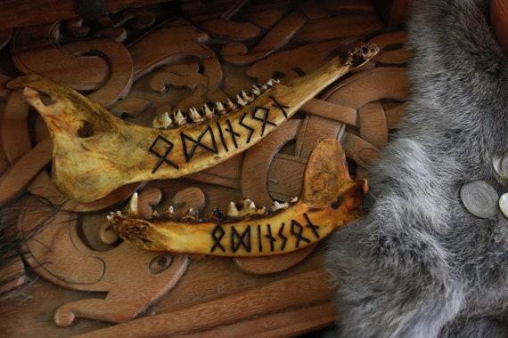 Odinson Viking Jawbone Rune