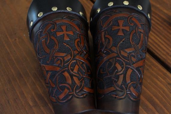 Urnes Style Viking War Cuffs