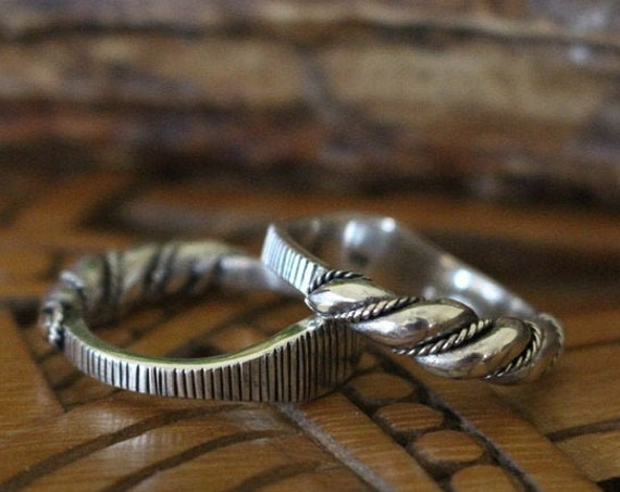 Viking Age Hand Twisted Ring