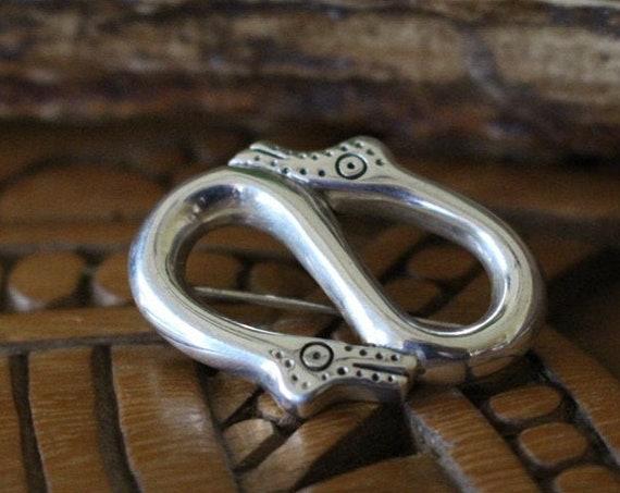 Hand Casted Viking Animal Motif Style Pendant