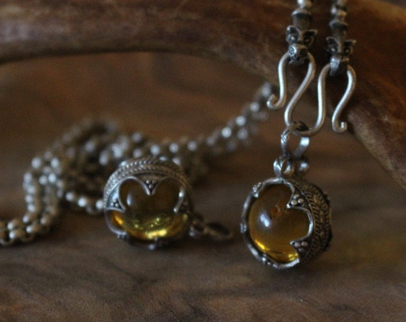 Gotland Baltic Amber Pendant