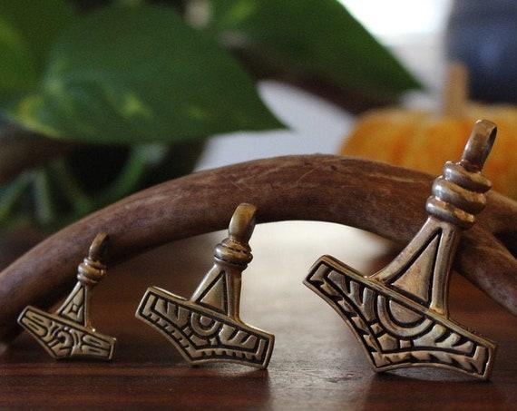 Gotland Replica Hand Casted Mjolnir