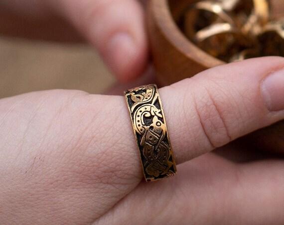 Viking Age Oseberg design ring