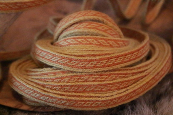 Oseberg Tablet Woven Band 100% Wool Historical Band