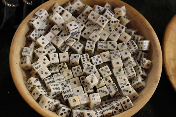 Replica Viking Bone Dice