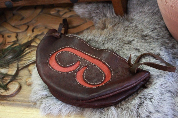 Historical Viking Age Gokstad Coin/Dice Pouch from Norway