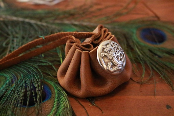 Celtic Beast Knot Coin Pouch