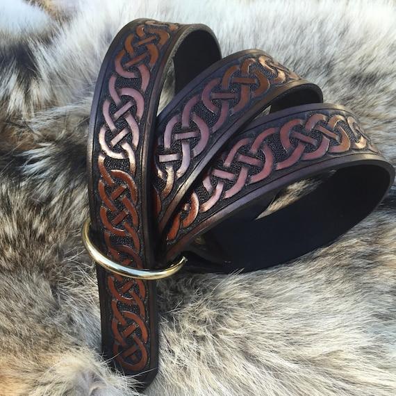 Leather Kings Celtic Belt