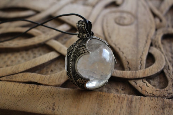 Replica Gotland Crystal Ball Made In Sterling Silver.
