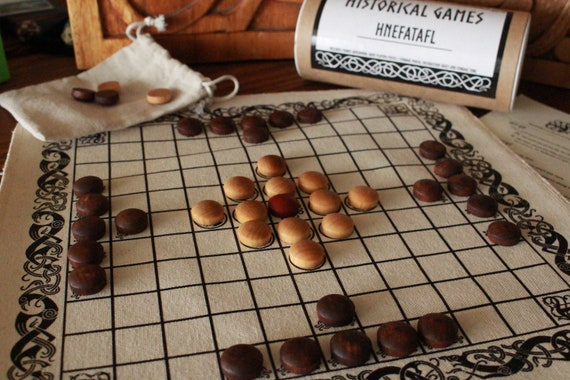 Hnefatafl Viking Chess Game Board