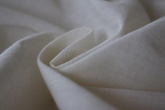100% gorgeous wool muslin fabric
