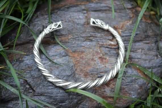 Sterling Silver Gotland Replica Bracelet