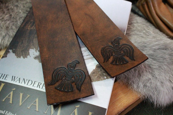 Norse Raven Bookmark