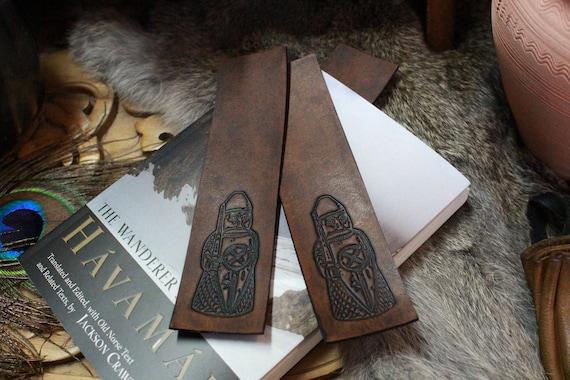 Shield Biter Bookmark - Berserker Lewis Chessman Piece