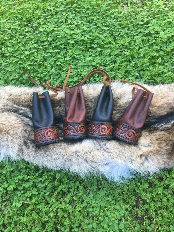 Yggdrasil Rune Pouch/ Belt Bag/ Alter Pouch