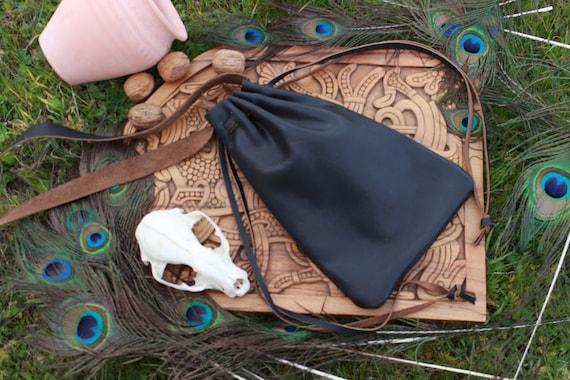 Leather Medieval Bag / Shoulder bag