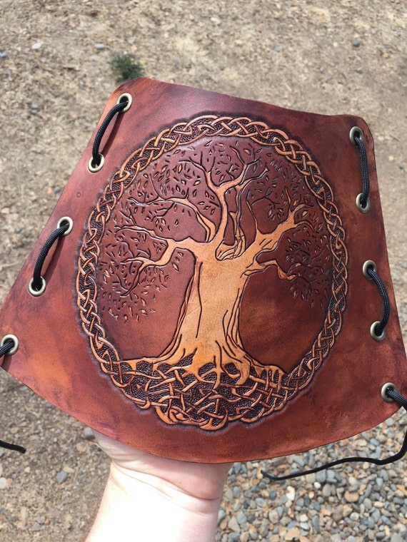 Celtic Tree of Life Knot Arm Guard-Bracers