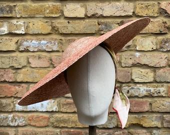 Cartwheel Hat/Ladies Summer Hat