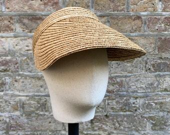 Sun Visor // Straw Hat// Women's Hat
