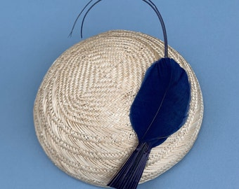 vintage hat trim // 1910 to 1920s hat trim // vintage feather // French hat trim