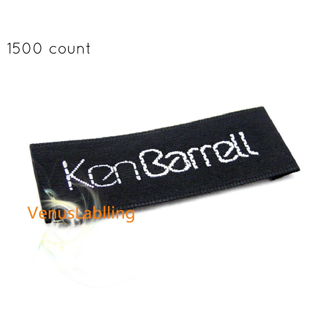 Handmade by labels clothes label maker custom labels online tag labels order labels text only free ship by express post 1500 count