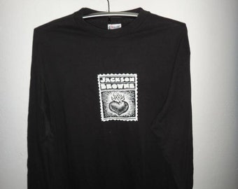 Vintage Jackson Brown Long Sleeve T Shirt