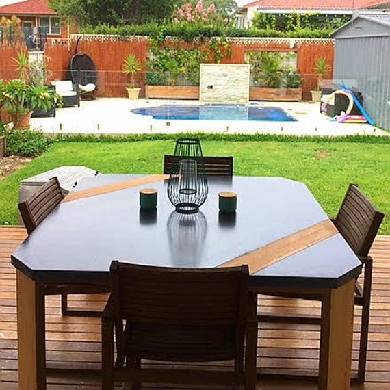 8 Seater Square Outdoor Dining Set