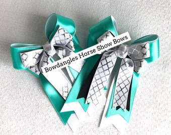 Ready2Mail Equestrian hair bows, Equestrian clothing, Over Fences, Special gift