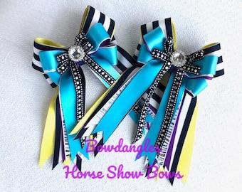 Equestrian Hair Bows/Beautiful Eye Catching Bows