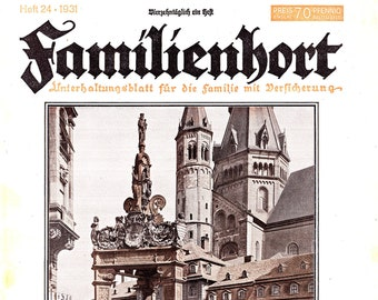 Familienhort - 1931 - Issue 24 - with Patterns (Pdf)