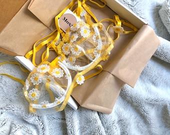 DAISY LINGERIE SET - Garter Belt Lingerie - Floral Lace Lingerie - Embroider Lingerie - Bridal Lingerie Set - boudoir Lingerie Set - Gift