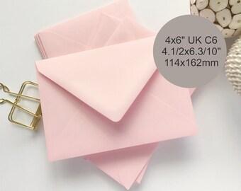 pink envelopes etsy