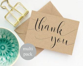 Thank You Cards Bulk Etsy